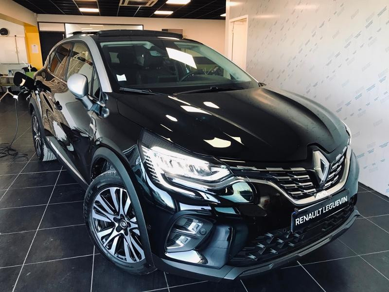 Renault Captur 1.6 E-Tech Plug-in 160ch Initiale Paris Hybride NOIR Occasion à vendre