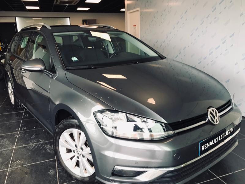 Volkswagen Golf SW 1.6 TDI 115ch FAP BlueMotion Technology Confortline Business Diesel GRIS Occasion à vendre