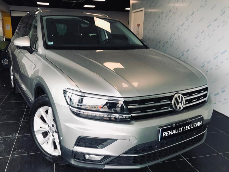 Volkswagen Tiguan 2.0 TDI 150ch Carat DSG7 Diesel GRIS Occasion à vendre