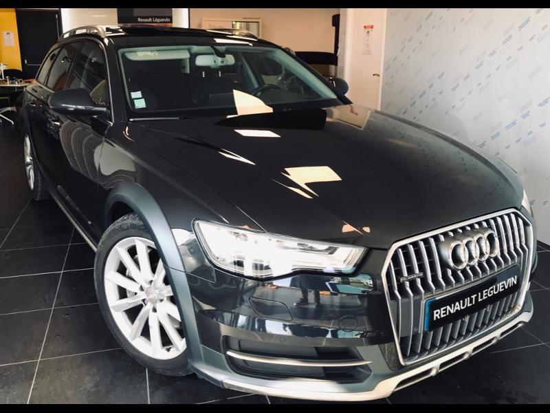 Audi A6 Allroad 3.0 V6 BiTDI 320ch Avus quattro Tiptronic Diesel GRIS Occasion à vendre