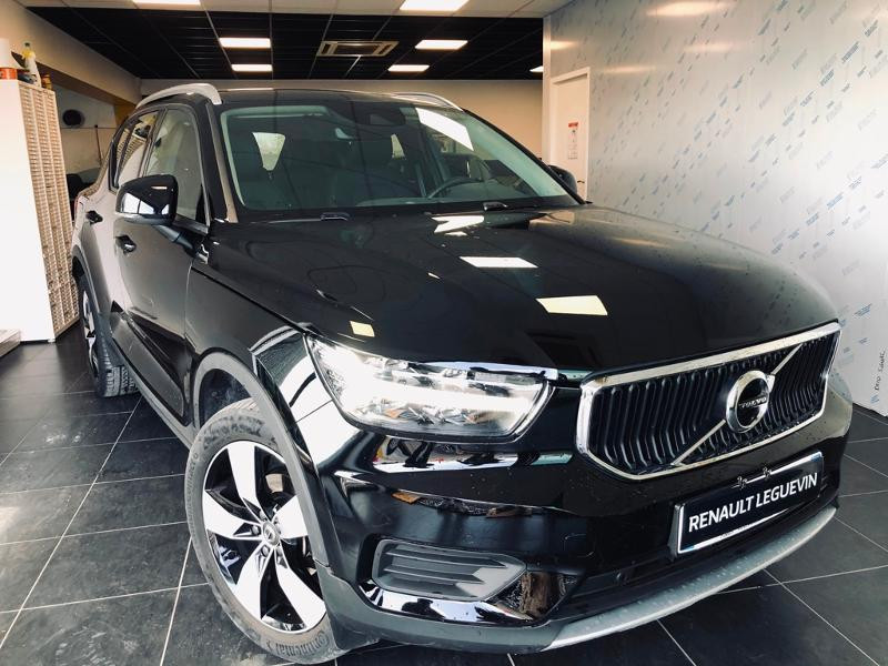 Volvo XC40 D3 AdBlue AWD 150ch Momentum Geartronic 8 Diesel NOIR Occasion à vendre