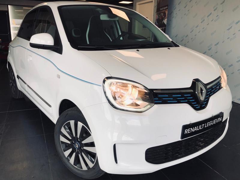 Renault Twingo Electric Intens R80 Achat Intégral Electrique BLANC Occasion à vendre