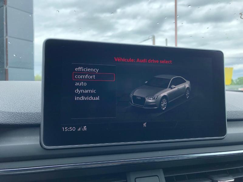 Photo 16 de l'offre de AUDI A4 2.0 TDI 150ch Design Luxe S tronic 7 à 26490€ chez Renault Léguevin Auto distribution occitane