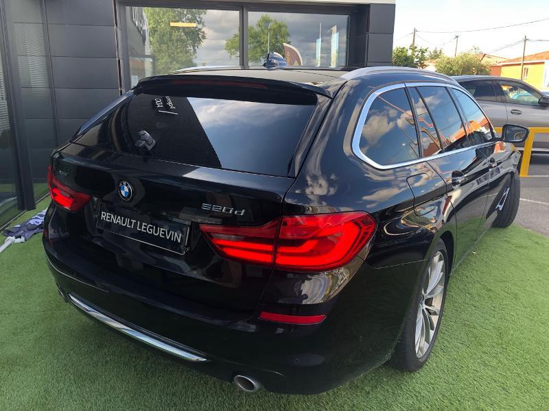 Photo 6 de l'offre de BMW Serie 5 520dA xDrive 190ch Luxury à 38490€ chez Renault Léguevin Auto distribution occitane