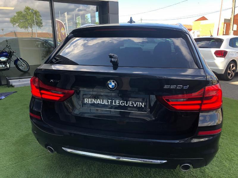 Photo 5 de l'offre de BMW Serie 5 520dA xDrive 190ch Luxury à 38490€ chez Renault Léguevin Auto distribution occitane
