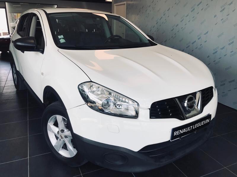 Nissan Qashqai 1.6 dCi 130ch FAP Stop&Start Connect Edition All-Mode Diesel BLANC Occasion à vendre