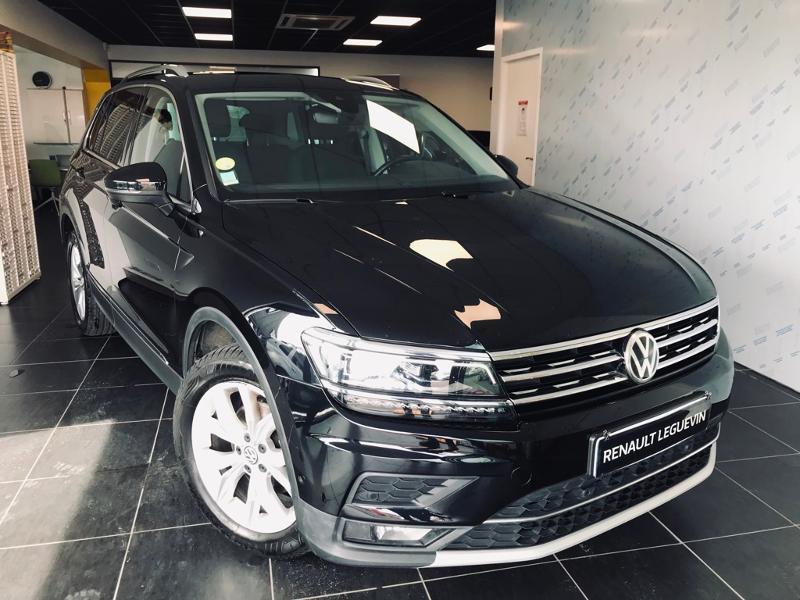 Volkswagen Tiguan 2.0 TDI 150ch BlueMotion Technology Carat DSG7 Diesel NOIR Occasion à vendre