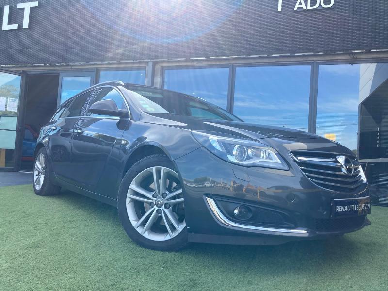 Opel Insignia 2.0 CDTI ecoFLEX 140ch Cosmo Pack Start&Stop 5p Diesel GRIS Occasion à vendre