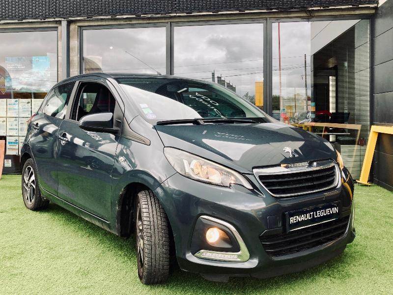 Peugeot 108 1.0 e-VTi Allure 5p Essence GRIS Occasion à vendre