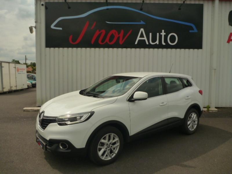Renault KADJAR 1.2 TCE 130CH ENERGY LIFE Essence BLANC Occasion à vendre
