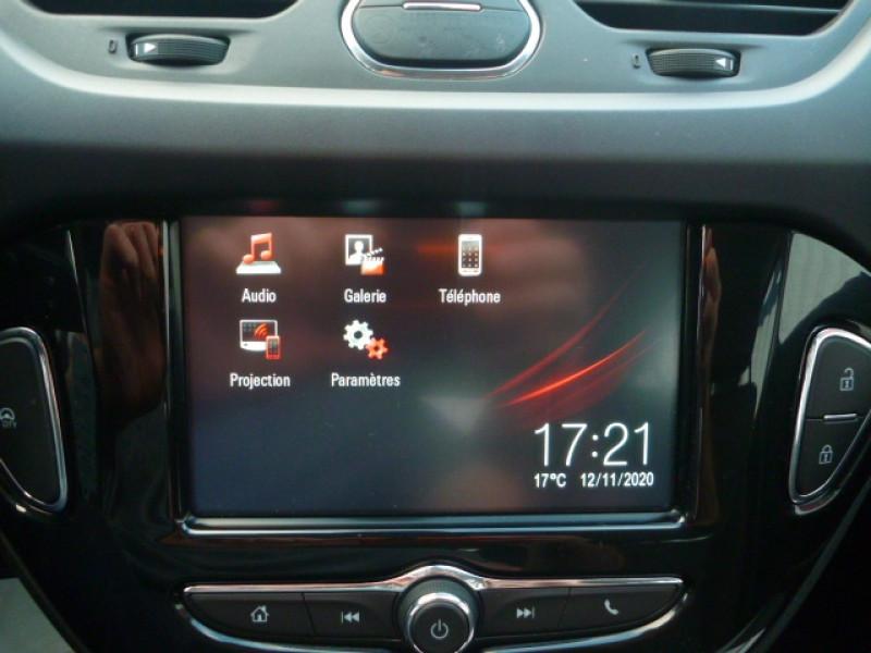 Photo 8 de l'offre de OPEL CORSA 1.4 90CH DESIGN 120 ANS START/STOP 5P à 11250€ chez J'NOV AUTO