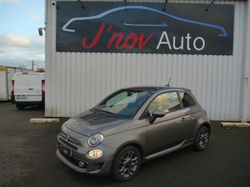 Fiat 500 1.2 8V 69CH S&S SPORT Essence GRIS FONCE METAL Occasion à vendre
