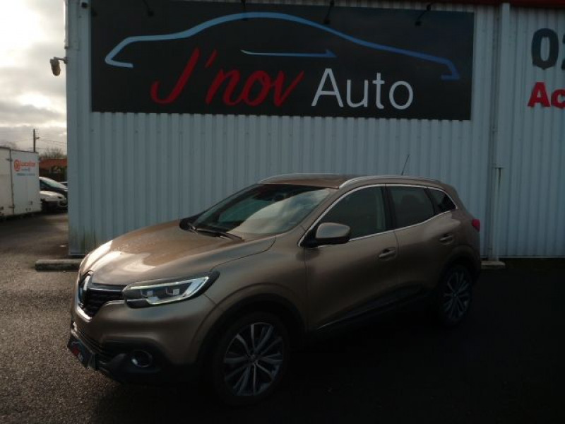 Renault KADJAR 1.5 DCI 110CH ENERGY INTENS ECO² Diesel BEIGE METAL Occasion à vendre