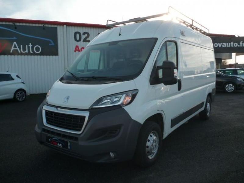 Peugeot BOXER FG 333 L2H2 2.0 BLUEHDI 130 PREMIUM PACK Diesel BLANC Occasion à vendre
