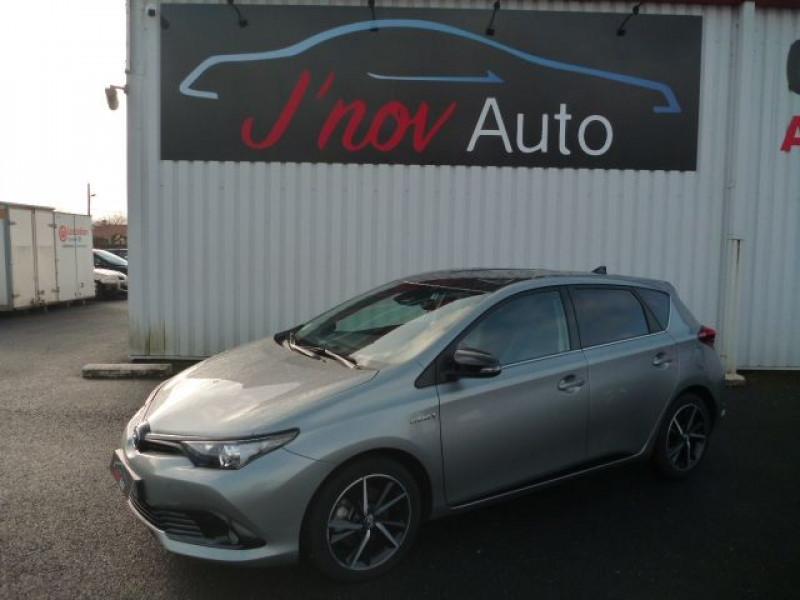 Toyota AURIS HSD 136H COLLECTION Hybride GRIS F TOIT NOIR  Occasion à vendre