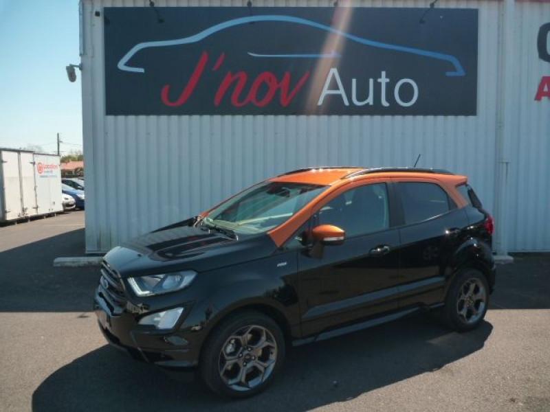 Ford ECOSPORT 1.0 ECOBOOST 125CH ST-LINE NOIR/TIGER Essence NOIR Occasion à vendre