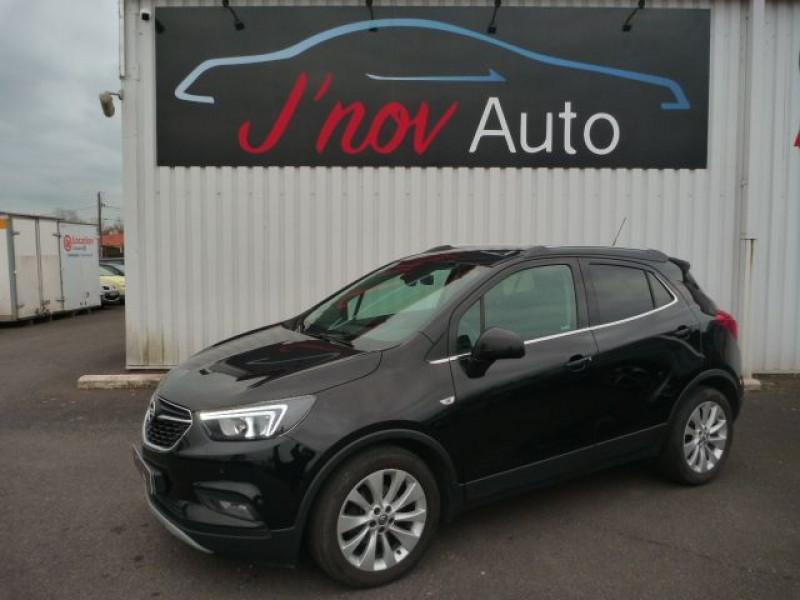 Opel MOKKA X 1.4 TURBO 140CH INNOVATION 4X2 Essence NOIR Occasion à vendre