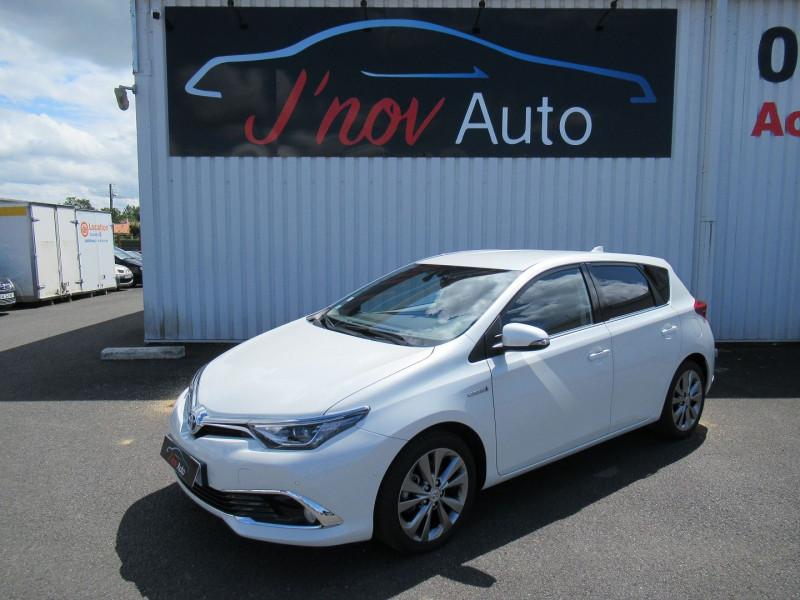 Toyota AURIS HSD 136H EXECUTIVE Hybride BLANC NACRE Occasion à vendre