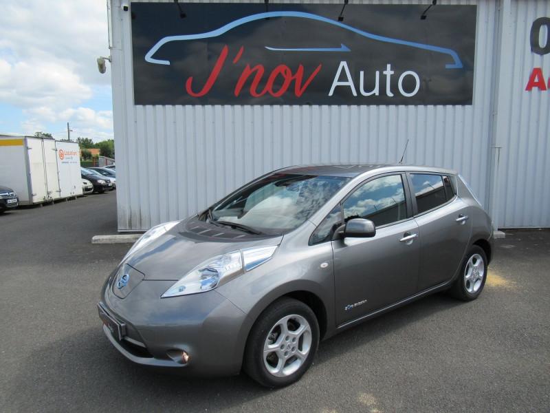 Nissan LEAF 109CH 30KWH ACENTA Electrique GRIS FONCE METAL Occasion à vendre