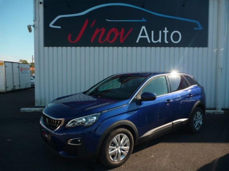 Peugeot 3008 1.5 BLUEHDI 130CH E6.C ACTIVE BUSINESS S&S Diesel BLEU FONCE METAL Occasion à vendre