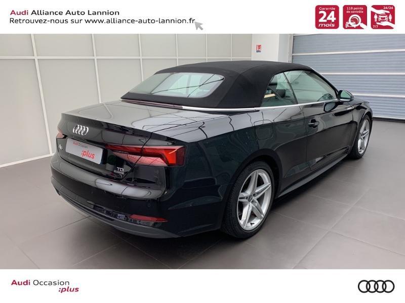 Photo 4 de l'offre de AUDI A5 Cabriolet 3.0 TDI 218ch S line quattro S tronic 7 à 40900€ chez Alliance Auto – Audi Lannion