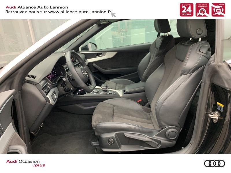 Photo 9 de l'offre de AUDI A5 Cabriolet 3.0 TDI 218ch S line quattro S tronic 7 à 40900€ chez Alliance Auto – Audi Lannion