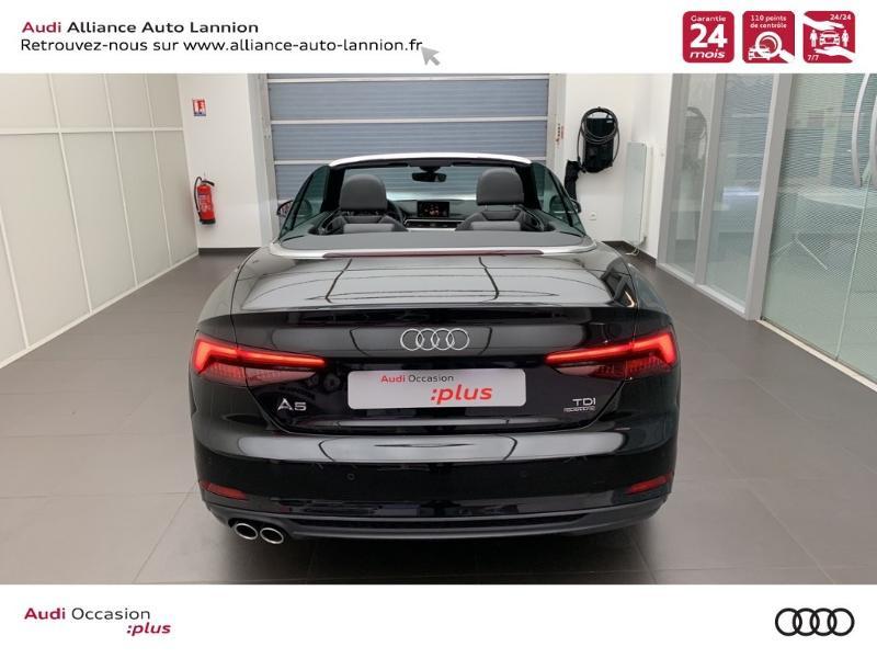 Photo 15 de l'offre de AUDI A5 Cabriolet 3.0 TDI 218ch S line quattro S tronic 7 à 40900€ chez Alliance Auto – Audi Lannion