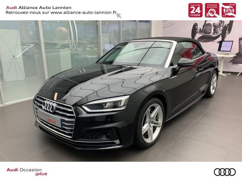Photo 1 de l'offre de AUDI A5 Cabriolet 3.0 TDI 218ch S line quattro S tronic 7 à 40900€ chez Alliance Auto – Audi Lannion