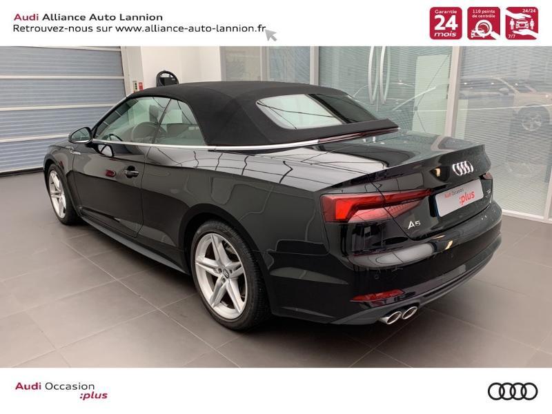 Photo 6 de l'offre de AUDI A5 Cabriolet 3.0 TDI 218ch S line quattro S tronic 7 à 40900€ chez Alliance Auto – Audi Lannion
