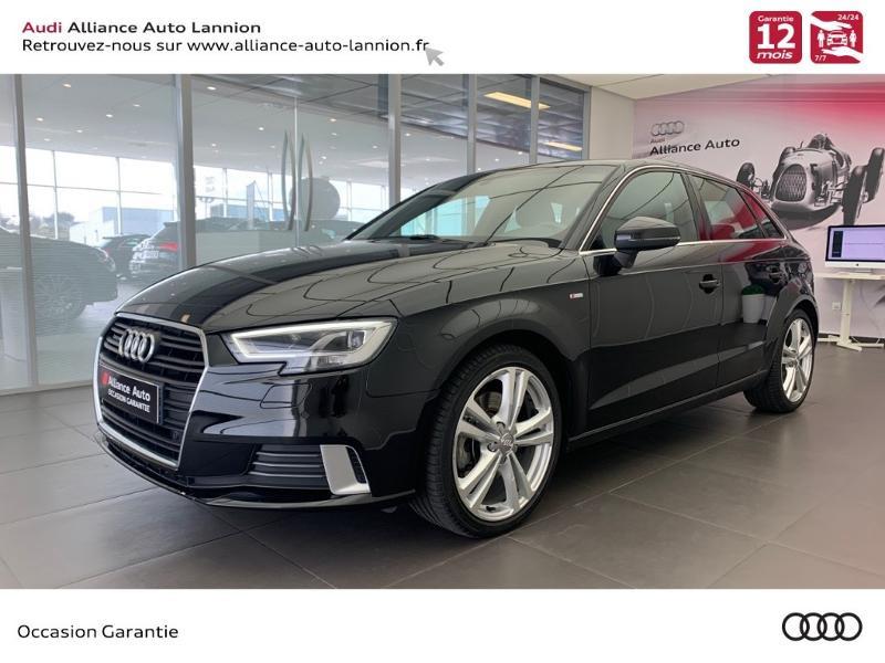 Audi A3 Sportback 2.0 TFSI 190ch S line quattro S tronic 7 Essence noir metal Occasion à vendre