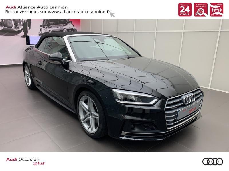 Photo 3 de l'offre de AUDI A5 Cabriolet 3.0 TDI 218ch S line quattro S tronic 7 à 40900€ chez Alliance Auto – Audi Lannion
