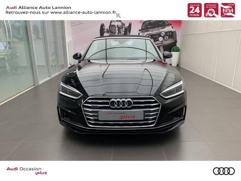 Photo 2 de l'offre de AUDI A5 Cabriolet 3.0 TDI 218ch S line quattro S tronic 7 à 40900€ chez Alliance Auto – Audi Lannion