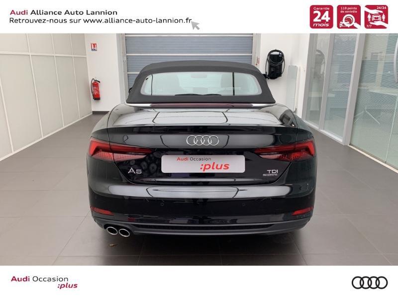 Photo 5 de l'offre de AUDI A5 Cabriolet 3.0 TDI 218ch S line quattro S tronic 7 à 40900€ chez Alliance Auto – Audi Lannion