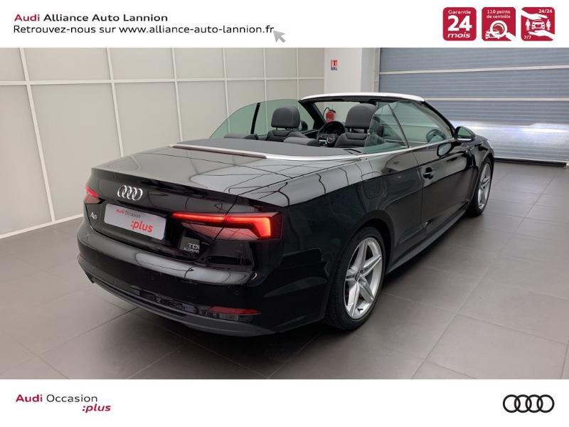Photo 14 de l'offre de AUDI A5 Cabriolet 3.0 TDI 218ch S line quattro S tronic 7 à 40900€ chez Alliance Auto – Audi Lannion