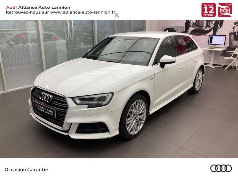 Audi A3 Sportback 2.0 TDI 184ch Design luxe quattro S tronic 7 Diesel BLANC IBIS Occasion à vendre