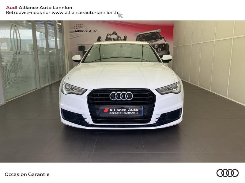 Audi A6 Avant 3.0 V6 TDI 218ch S line S tronic 7 Diesel Blanc Occasion à vendre