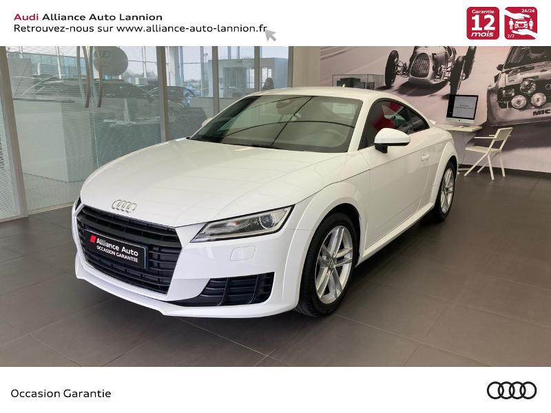 Audi TT 2.0 TFSI 230ch Essence blanc ibis Occasion à vendre