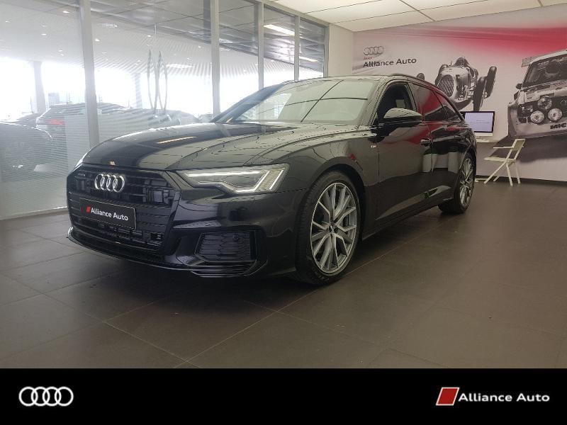 Audi A6 Avant 50 TDI 286ch S line quattro tiptronic Diesel NOIR FANTOME NACRE Occasion à vendre