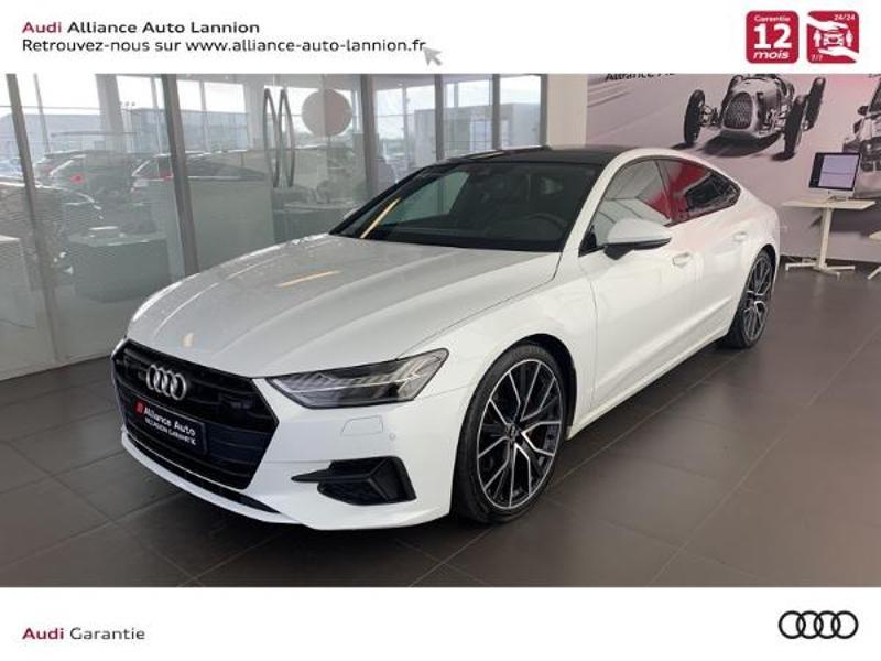 Audi A7 Sportback 50 TDI 286ch Avus quattro tiptronic 8 Diesel BLANC GLACIER Occasion à vendre