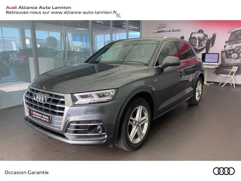 Audi Q5 35 TDI 163ch S line S tronic 7 Euro6d-T 9cv Diesel GRIS DAYTONA NACRE Occasion à vendre