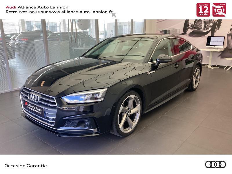 Audi A5 Sportback 3.0 TDI 218ch Avus quattro S tronic 7 Diesel NOIR MYTHIC Occasion à vendre