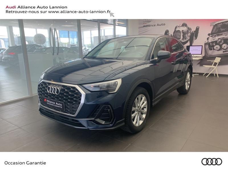 Audi Q3 Sportback 35 TDI 150ch Design S tronic 7 Diesel Bleu Métal Occasion à vendre