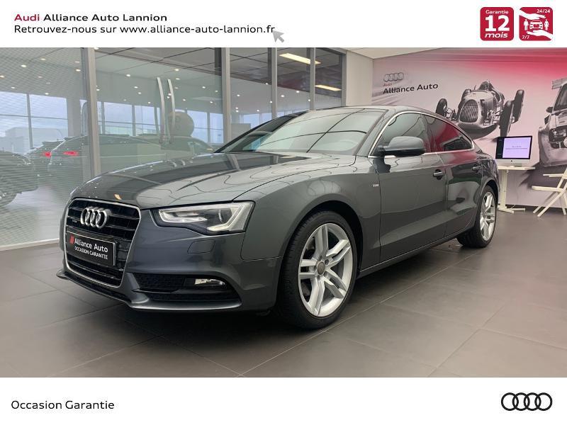 Audi A5 Sportback 3.0 V6 TDI 245ch S line quattro S tronic 7 Diesel GRIS DAYTONA Occasion à vendre