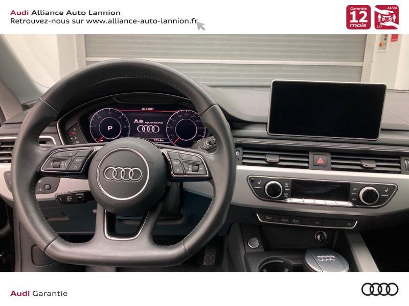 Photo 6 de l'offre de AUDI A5 2.0 TDI 190ch Design Luxe quattro S tronic 7 10cv à 32900€ chez Alliance Auto – Audi Lannion