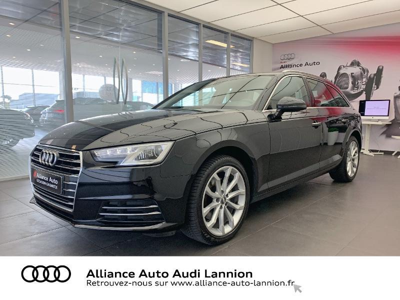 Audi A4 Avant 2.0 TDI 150ch Design Luxe S tronic 7 Diesel NOIR MYTHIC Occasion à vendre