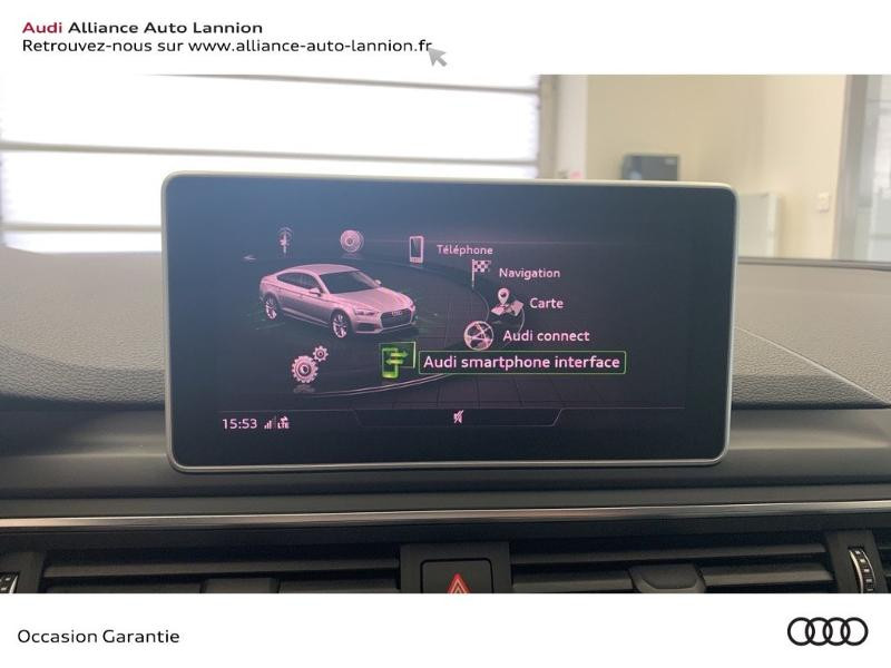 Photo 15 de l'offre de AUDI A5 Sportback 3.0 TDI 286ch S line quattro Tiptronic à 44900€ chez Alliance Auto – Audi Lannion
