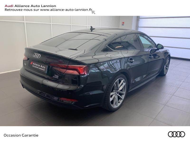 Photo 4 de l'offre de AUDI A5 Sportback 3.0 TDI 286ch S line quattro Tiptronic à 44900€ chez Alliance Auto – Audi Lannion