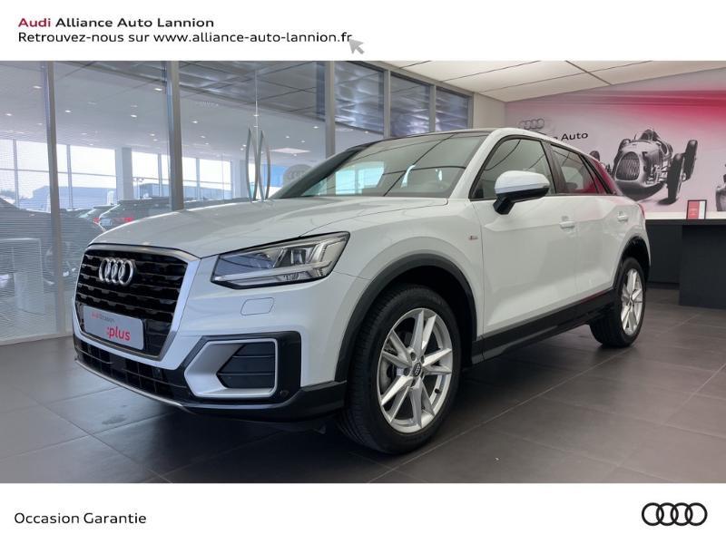 Audi Q2 35 TFSI 150ch COD S line S tronic 7 Essence Blanc Occasion à vendre