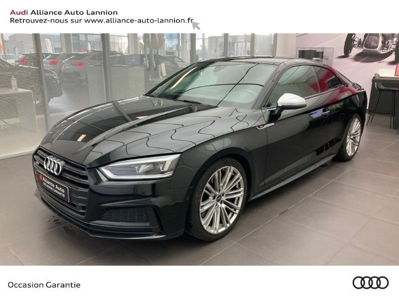 Audi S5 3.0 V6 TFSI 354ch quattro tiptronic 8 Essence NOIR MYTHIC METALLISE Occasion à vendre
