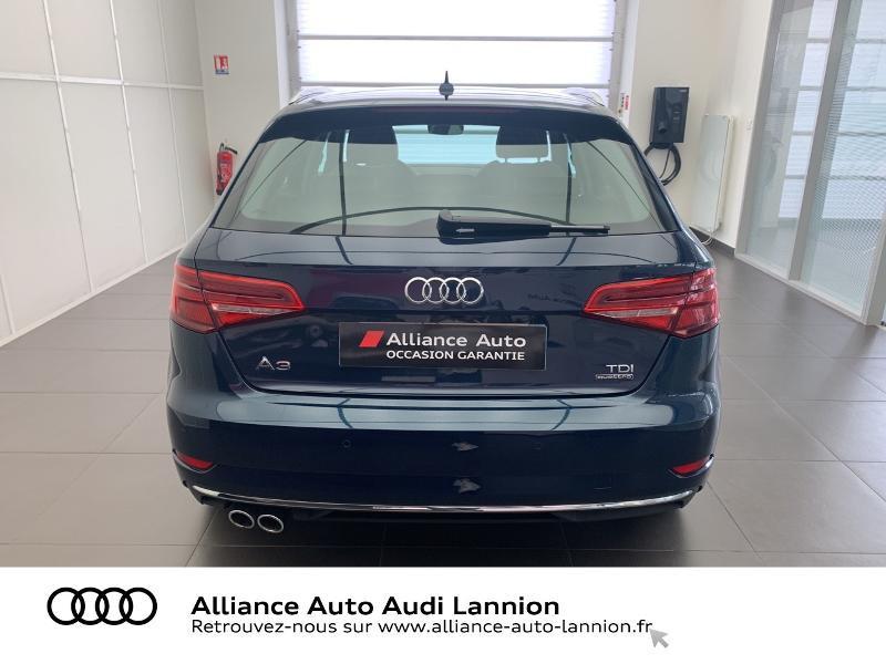 Photo 5 de l'offre de AUDI A3 Sportback 2.0 TDI 184ch Design luxe quattro S tronic 7 à 24900€ chez Alliance Auto – Audi Lannion
